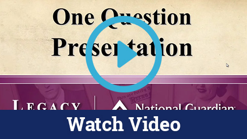One Question Presentation