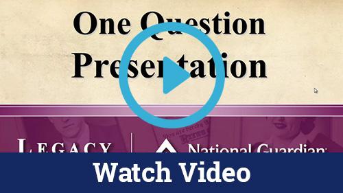 One Question Presentation